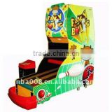Colorful Ticket Funny Bowling Arcade Game Machine