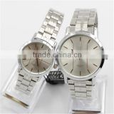 Latest vogue couple watches, newest design lovers watch, popular style wristwatch men& women