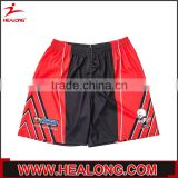 Smooth comfortable high quality subliamtion embroidery mens rugby short pants wholesales
