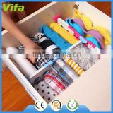 1 pcs adjustable underwears sock tie drawer closet divider storage organizer box