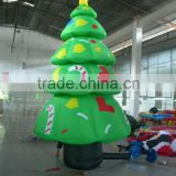 Hot-selling christmas decoration big christmas inflatable cartoons