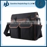 Large capacity huge hardware bearing backpack tool bag for networking