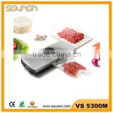 Stainless steel vacuum food sealer, home use food saver vacuum, Portable food packing machine