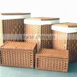 wholesale recycled paper boxes dirty clothes laundry hamper basket with lid                                                                         Quality Choice