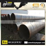 LARGE DIAMETER SPIRAL TUBE | Q235B IRON WATER PIPE