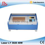 laser cut machine LY 3020M CO2 laser cutting machine with honeycomb laser engraving machine