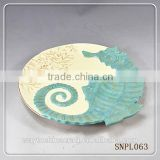 wholesale decorative restaurant sea food dinner dish plate