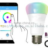 Smart wifi rgb led bulb 5w with CE control by IOS & Android                                                                         Quality Choice