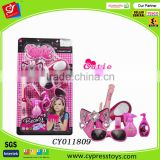 Beauty Girl Salon Toy Set With Hair Dryer Curling Iron Lipstic and Acc