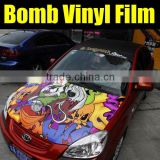 Sticker Bombing Vinyl Film for car Wrapping Vinyl Size: 1.52 Meter X 30 Meter
