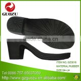 high heel rubber shoe sole material