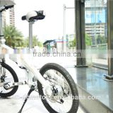 Foldable electric city bike, electric bicycle with 48V 12ah big capacity lithium battery