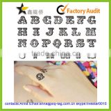 2014 Hot sale custom temporary english letters tattoo sticker                                                                         Quality Choice