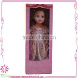 Girl Doll Package Fashion 18 inch Size High wholeslae girl package doll