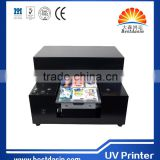 Eco solvent Printing machine A4 size phone case flatbed printer to print mobile case and soft cell phone shell on hot sale