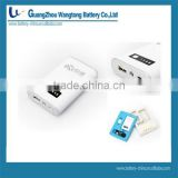 8400mAh Portable Mobile Power Station G08, Backup Battery Charger for iPhone iPad iTouch Tablet PC Ebook Game Player...
