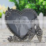 European style fashion alloy set back to the back of the bedroom decoration photo frame, creative heart, wedding photo frame