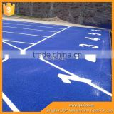 Eco-friendly Outdoor Rubber Running Track Surface