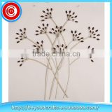 Beautiful Flower Bunch Wall Decor with Acrylic Bead