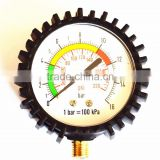 high qualityair compressor pressure gauge bourdon tube pressure gauge gas pressure gauge made in ningbo china