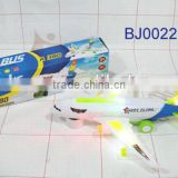 Popular kid toy battery operated airbus A380 passenger plane model