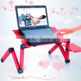 HDL-810 HOT sale !! portable foldable adjustable laptop table stand