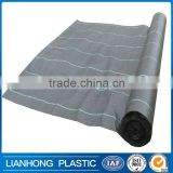 Plastic Black Polypropylene Weed Control Mat Barrier, China 100% Polypropylene Woven Ground Cover , 5 m X 1000m weed fabric