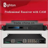 hot selling 2016 digital tv headend DVB-T2/DVB-C/DVB-S/DVB-S2 satellite tv decoder                                                                         Quality Choice
