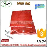 hotsale breathable pp woven big mesh bag for potato onion garlic storage and transportation