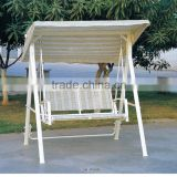 00 outdoor furniture double seats hanging canopy swing chair YPS085
