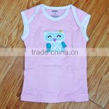 Baby cloths sleeveless printed cotton tshirts for baby