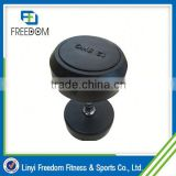 Alibaba China Stainless Steel Dumbbell With Rubber Ring