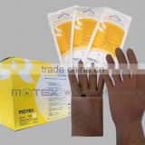 Motex Long and Thick Orthopaedic Powder Free Orthopaedic Surgical Gloves with CE and FDA certificate