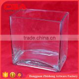 wholesale Crystal glass vase for wedding gifts or centerpiece