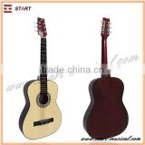 Wholesale Best Quality Acoustic Guitar Plastic Back