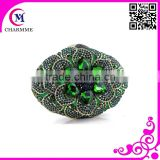 Newest Hight Quality Design CT-550 Cute Pure manual indian bridal wedding clutch purse for wedding/party