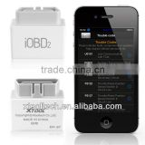Xtool iOBD2 obd2 bluetooth auto engine diagnostic kit iOS&Android supported