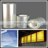 Indoor and outdoor Backlit PET film for advertising