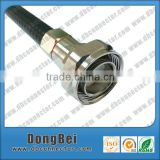 RF 7/16 male din connectors coaxial cable connector