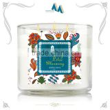 New innovative products white candle jars wholesale                                                                         Quality Choice