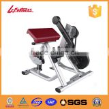 Hot sale gym fitness equipment manufacturer biceps curl strength training machine for professional gym club LJ-5701