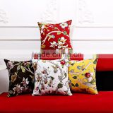 Cotton Canvas Printing Throw Sofa Home Decor Pillow Case Cushion Cover