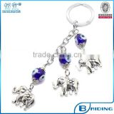 promotional product evileye bead animal metal keychain