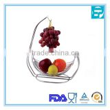 stainless steel Wire Fruit Tree Bowl with Banana Hanger
