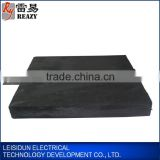 Lightning protection block chart Shaped Graphite Ground Module/ Earthing graphite Module