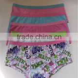 2015 USA Latest Design Best Selling cute panties kids underwear for girls