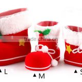 Promotional christmas stockings socks, christmas tree decoration, gift box, whoesale christmas candy boots