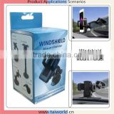 360 degree swivel ball joint windshield holder mount bracket for gps mobile