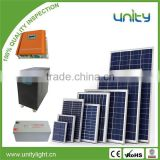 Free Design 10KW Off Grid Solar Panel PV System with Controller Battery Inverter Mounting System and Cables