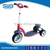 3 wheel kick scooter for kids, EN71 certificated baby walker multifunction